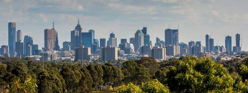 beautiful picture of Melbourne suburb